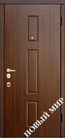 "Входные двери ""Новосел C 7.5"" Форт (MDF) 2070х970х125 мм"