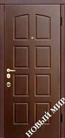 "Входные двери ""Новосел М 7.2"" Шведская (MDF) 2040х880х115 мм"
