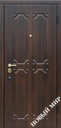 """Входные двери """"Новосел C 7.6"""" Новая Каховка (MDF) 2070х970х125мм"""
