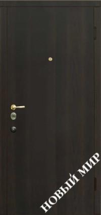 """Входные двери """"Новосел С 3.5"""" Венге (ПМЛ) 2070х970х125 мм"""
