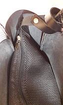 156 Натуральная кожа, Сумка женская бордовая марсала Сумка шоппер бордовая Сумка шоппер кожаная Сумка Глянец, фото 3