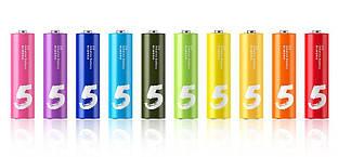 Батарея Xiaomi Rainbow AA Alkaline 10 шт