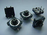 Микрокнопка тактовая ALPS 12x12x7.3mm (типа OMRON B3F) для DMX пультов, фото 3