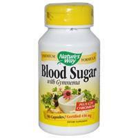 Blood Sugar 90 капс снижение сахара в крови для поджелудочной железы Nature's Way USA