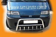 Fiat Ducato 1995-2006 гг. Кенгурятник WT003 (нерж.)