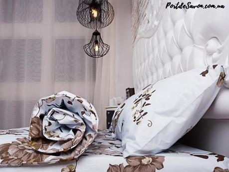 Недорогой двуспальный комплект постельного белья из бязи