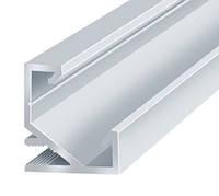 Профиль аллюминиевый LED BIOM угловой ЛПУ17 17х17неанодированный (палка 2м), м