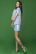 Летний костюм Бити голубой(42-44)