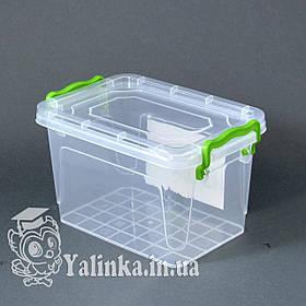 Харчової контейнер з кришкою 1л А-8