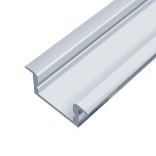 Профиль алюминиевый LED BIOM врезной ЛПВ7 7х16, неанодированный (палка 2м), м