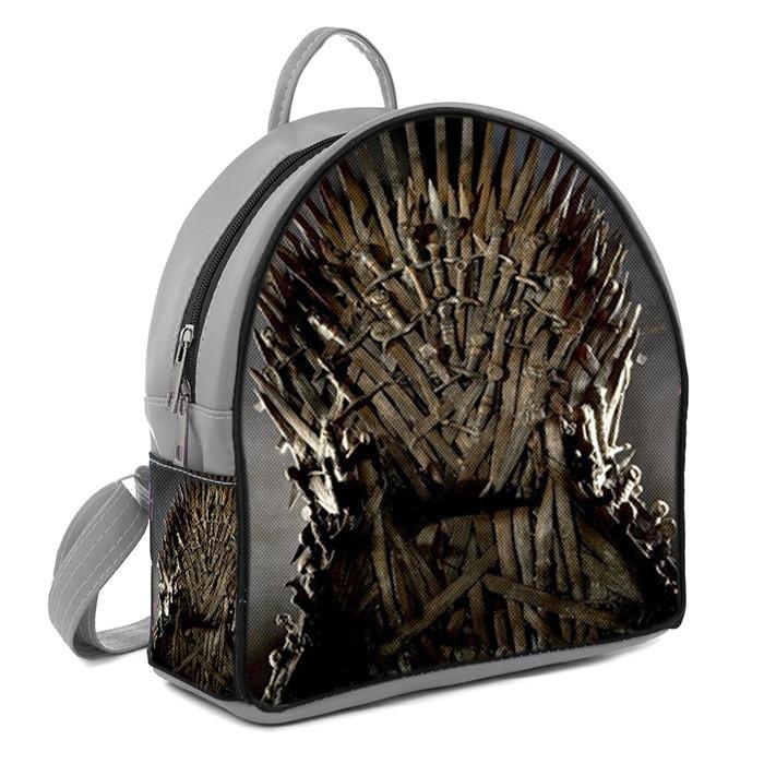 Рюкзак Moderika Arco серый с рисунком Игры Престолов (77938)
