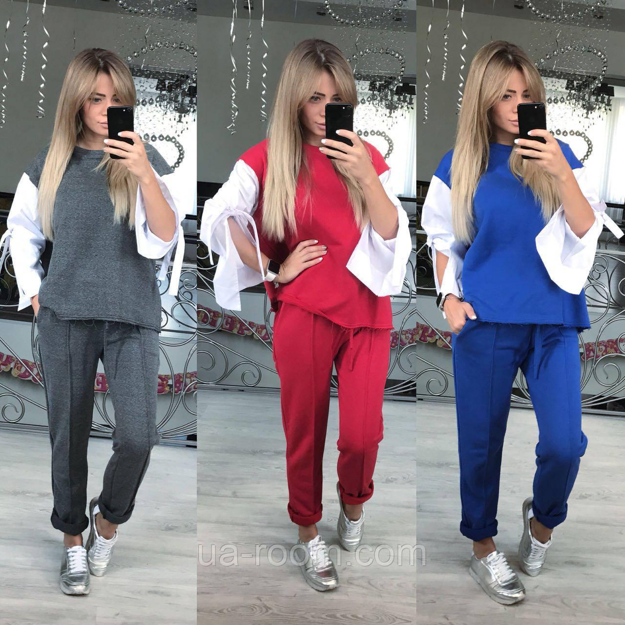Женский костюм - двойка из двунитки № 472