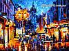 Картина по цифрам Амстердам 1905 худ. Афремов, Леонид (VP075) 40 х 50 см