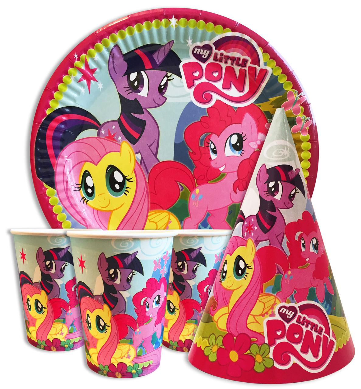 Набор праздничный  My little pony