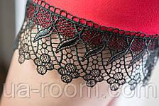 Женское платье из хлопка с кружевом №250, фото 3