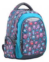 Стильный молодежный рюкзак Т-22 Wise Owl  ТМ 1 Вересня, фото 1