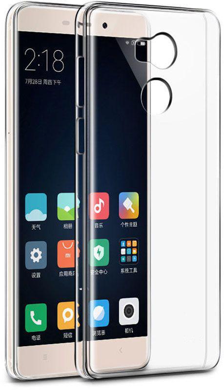 Чехол-накладка TOTO TPU case clear Xiaomi Redmi 4 Prime Transparent