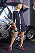 Женское трикотажное платье Moschino В4, фото 2