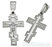 Срібний хрестик 1008кр.