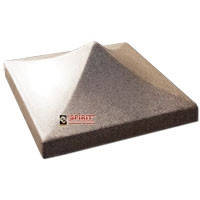 Крышка, конек, пирамида для столба (340х340х140 мм)