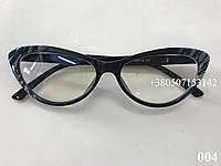 Элегантные компьютерные очки. Melorsch 004 черные / серые, фото 1