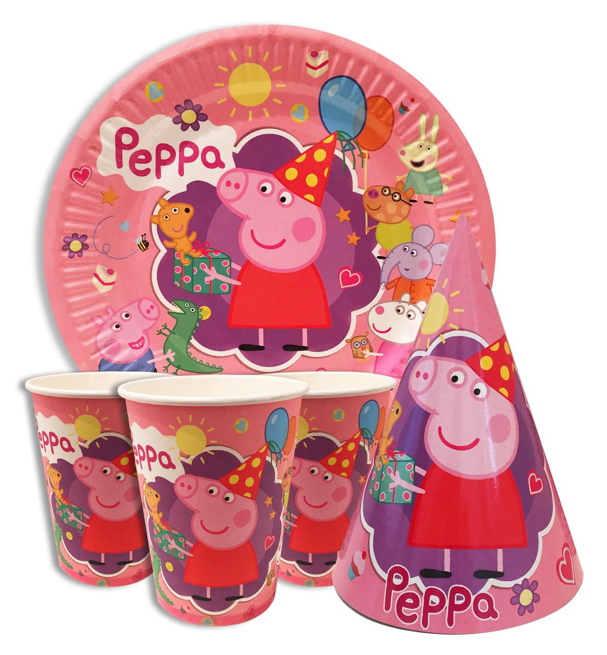 Набор праздничный Свинка Пеппа