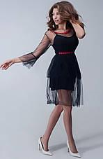 Женское платье микромасло +сетка №272, фото 2