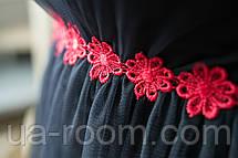 Женское платье микромасло +сетка №272, фото 3