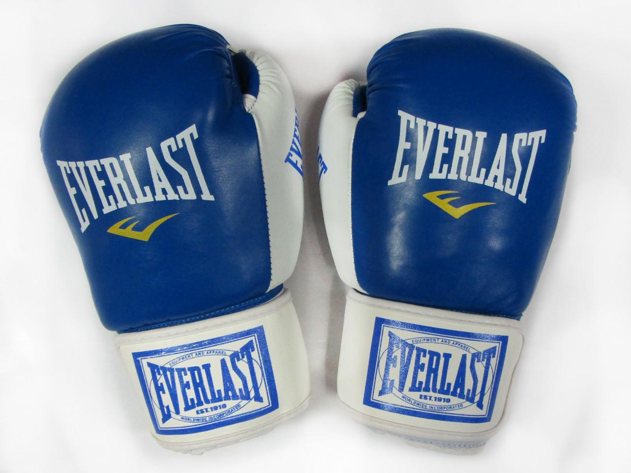 Боксерские перчатки Everlast кожа 10oz