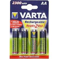 Аккумуляторы пальчиковые Varta AA 2300 Ready 2 Use 4 шт.