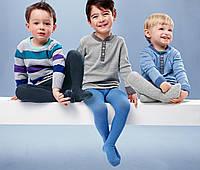 Теплые колготки для мальчиков с махровым носком ТСМ Германия, фото 1