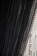 Кисея однотонная Лайт черная (9)
