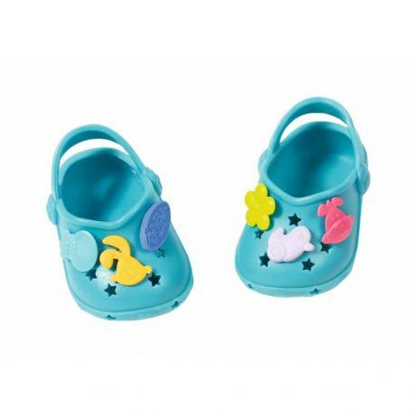 Кроксы куклы Беби Борн бирюзовые Baby Born Zapf Creation 824597