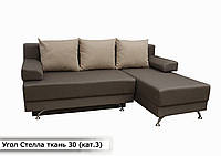 """Угловой диван """"Стелла"""" в ткани 3-й категории (ткань 30)"""