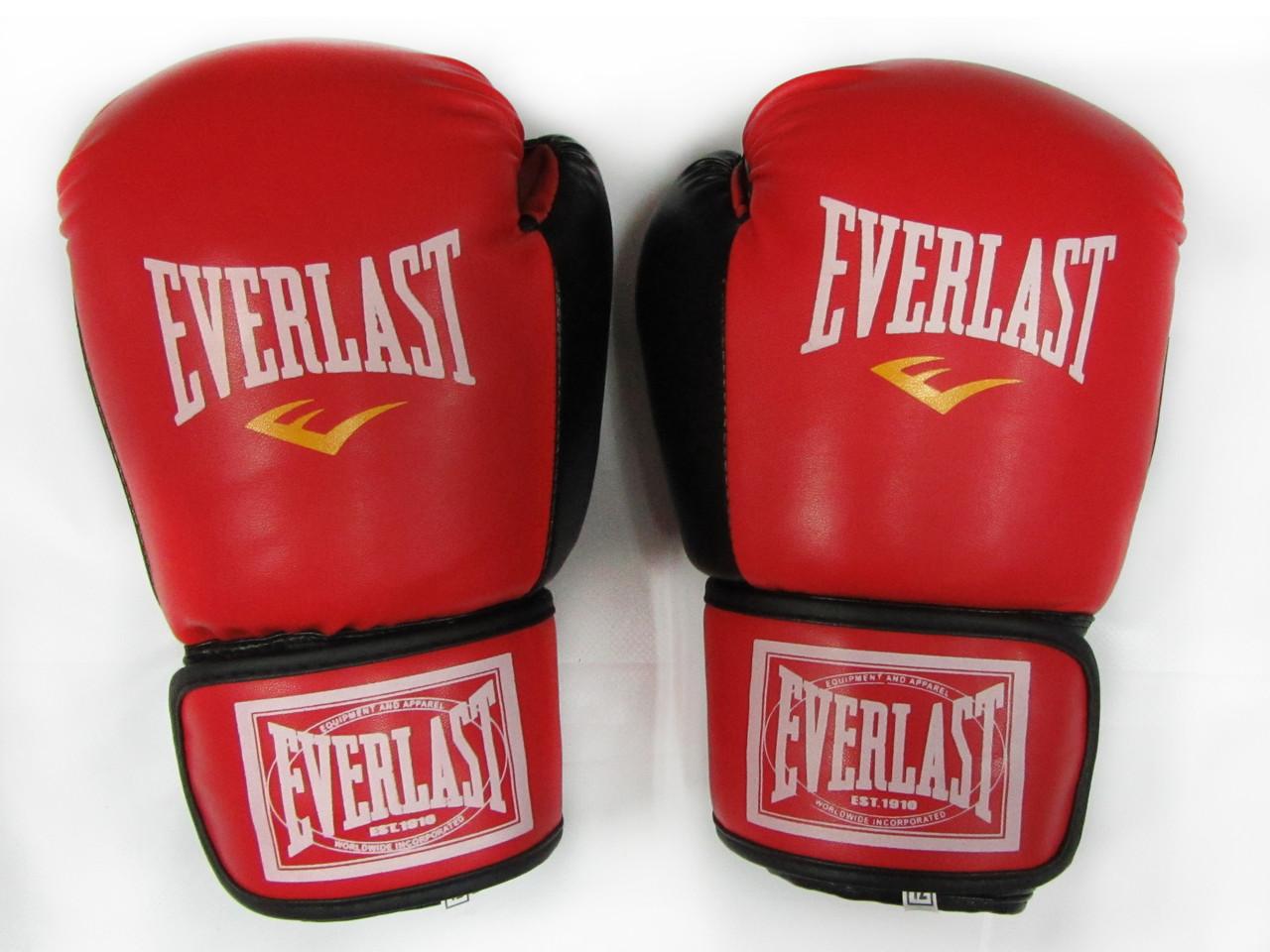 Перчатки боксерские Everlast 12oz стрейч