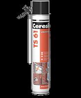 Монтажная пена Ceresit TS 61 с трубкой-аппликатором 750 мл