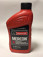 Масло трансмиссионное Ford Motorcraft Mercon V Automatic, 0.946 л. (XT5QMC)