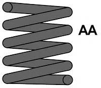 MAXTRAC MC1311 Пружина ходовой части (Подвеска / амортизация)
