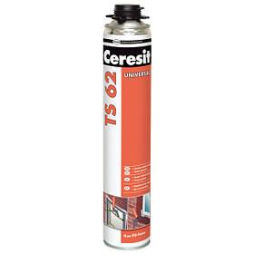 Монтажная пена Ceresit TS 62 профессиональная (под пистолет) 750 мл