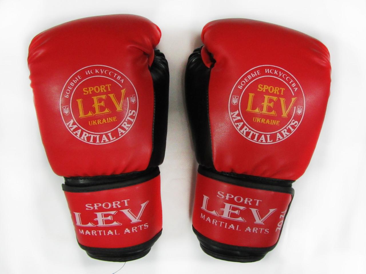 Перчатки боксерские Лев «ТОП» стрейч 12oz