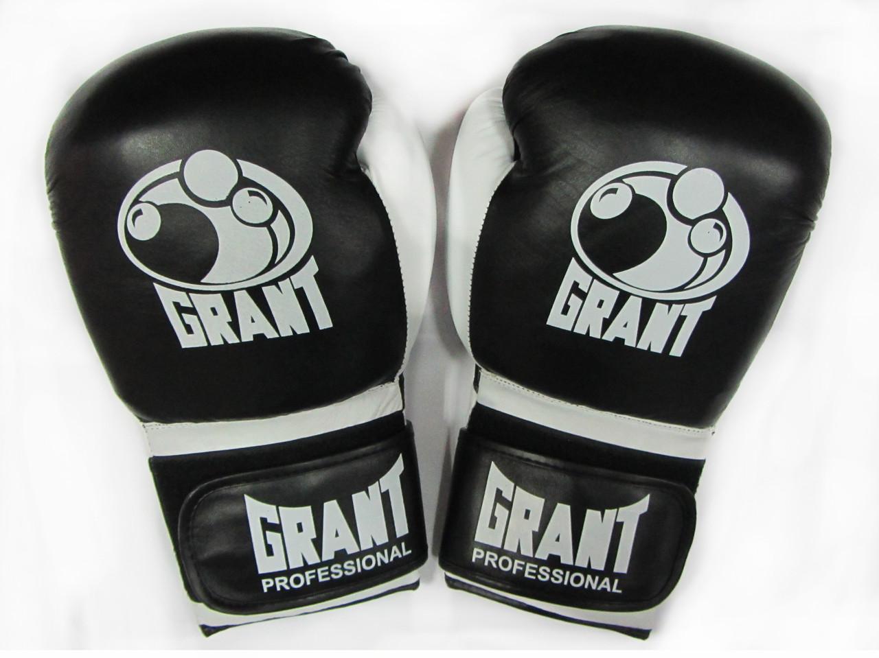 Перчатки для бокса Grant Professional кожа 14oz