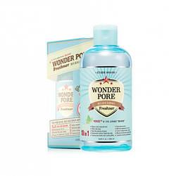 Тоник для сужения пор Etude House Wonder Pore Freshner 10 in 1 250 ml