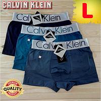 Мужские трусы-боксёры Calvin Klein качественное нижнее бельё ассорти  ТМБ-18823 4d6444513adbd