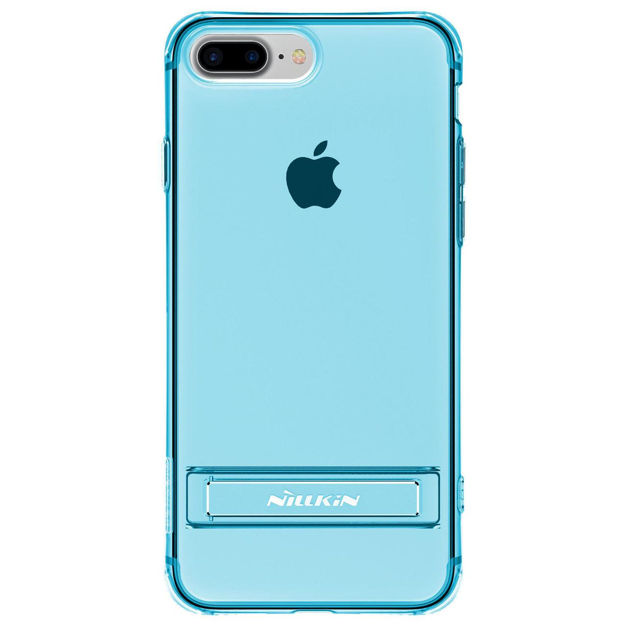 Чехол-накладка Nillkin TPU Crashproof II with Holder iPhone 7 Plus Blue