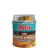 """Клей для гранита и мрамора """"AkFix G400"""" (вес - 1000 г)"""