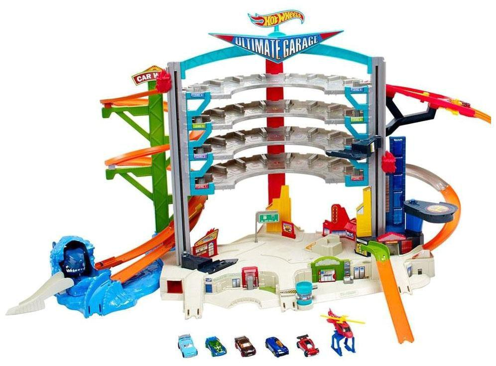 Трек Хот Вилс Hot Wheels Легендарный ультимейт гараж Ultimate Garage Playset