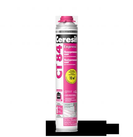 СТ 84 (CT 84) Express Ceresit полиуретановый клей для пенополистирола 850 мл