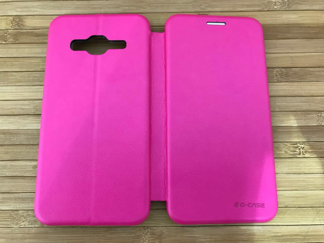 Чехлы для Galaxy J Series (остальные модели) G-Case Samsung J320 pink J3 (J337) 2018 Для телефона Розовый