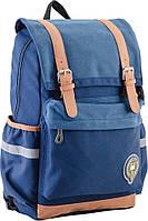 Підлітковий Рюкзак шкільний OX 301, синій, 28*42*13, YES, фото 1