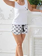 Женские шорты для дома Ш401 Еноты